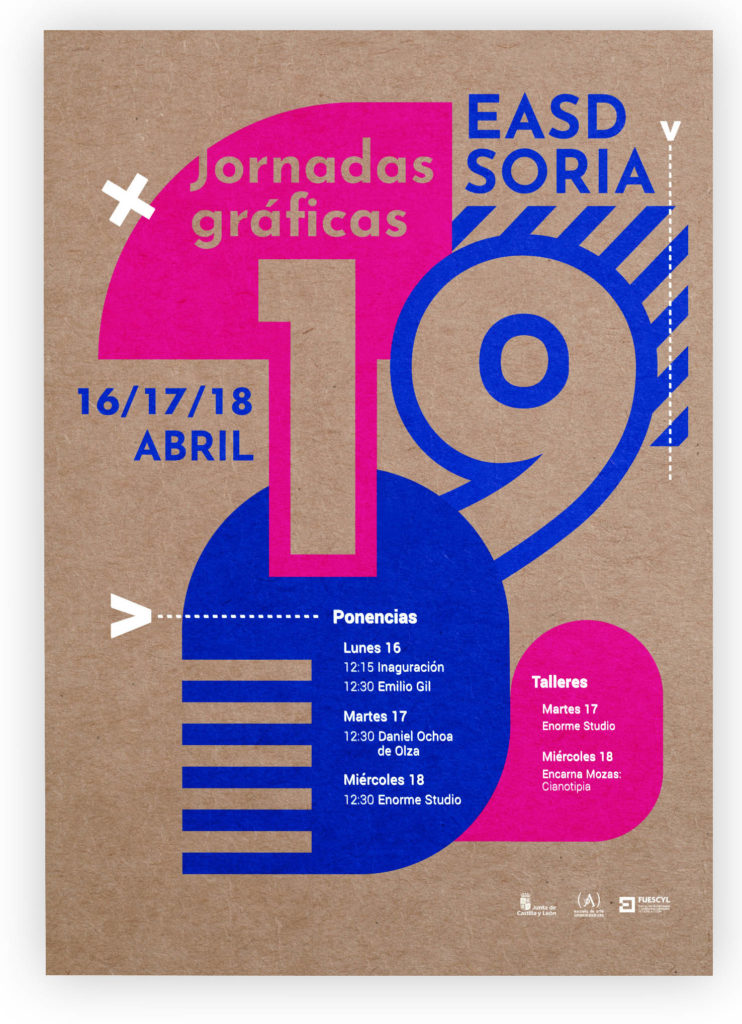 Jornadas Gráficas 2019 en la Escuela de Arte y Superior de Diseño de Soria