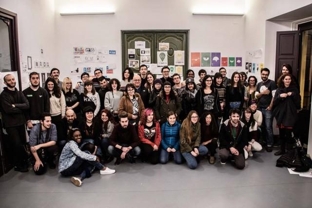 Alumnos de la Escuela de Arte y Superior de Diseño de Soria