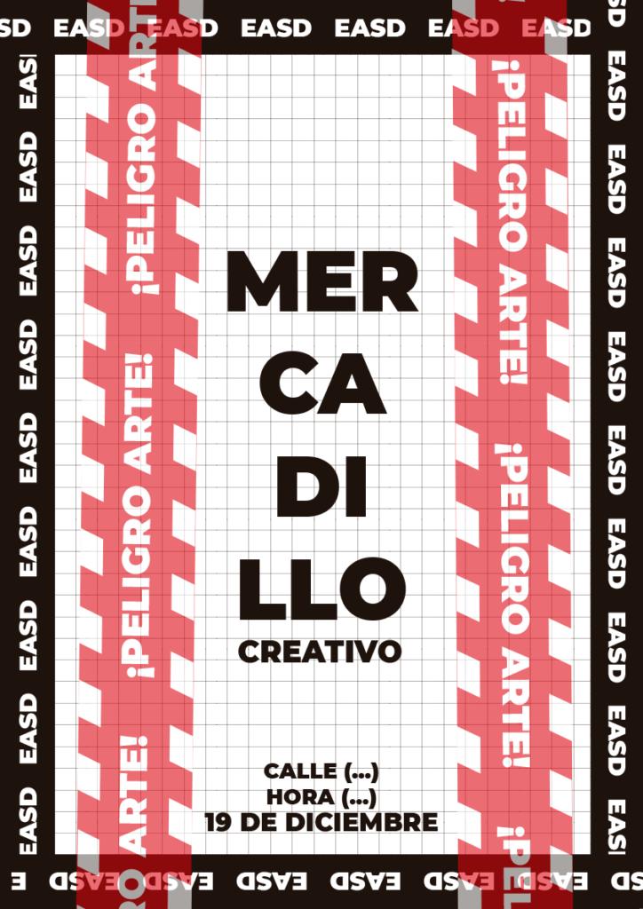 Mercadillo creativo solidario Escuela de Arte y Superior de Diseño de Soria